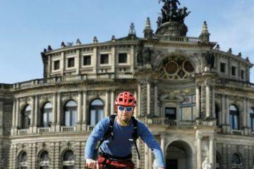 Sachsen Biketour durch Dresden mit Semperoper. ALPStours