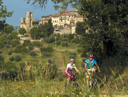Trekking Bike Tour am Lago Trasimeno bei San Savino ALPStours