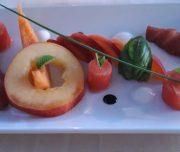Bei der kulinarischen Woche in der Villa Rey ist auch ein Kochkurs im Programm. Kreativer Fruchtsalat.