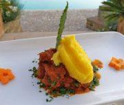 Bei der kulinarischen Woche in der Villa Rey ist auch ein Kochkurs im Programm. Wildschwein an Polenta